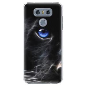Plastové pouzdro iSaprio black Puma na mobil LG G6 (H870)