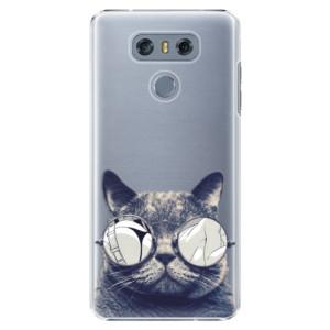 Plastové pouzdro iSaprio Šílená Číča 01 na mobil LG G6 (H870)