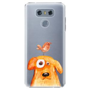 Plastové pouzdro iSaprio Pejsek a Ptáček na mobil LG G6 (H870)
