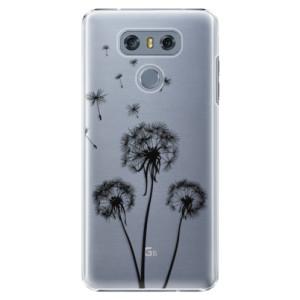 Plastové pouzdro iSaprio Tři Černé Pampelišky na mobil LG G6 (H870)