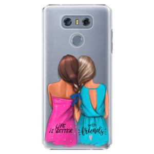 Plastové pouzdro iSaprio Best Friends na mobil LG G6 (H870)