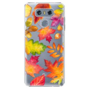 Plastové pouzdro iSaprio Autumn Leaves 01 na mobil LG G6 (H870)