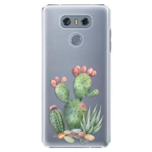 Plastové pouzdro iSaprio Kaktusy 01 na mobil LG G6 (H870)