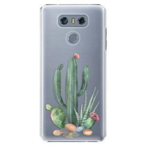 Plastové pouzdro iSaprio Kaktusy 02 na mobil LG G6 (H870)