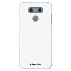 Plastové pouzdro iSaprio 4Pure bílé na mobil LG G6 (H870)