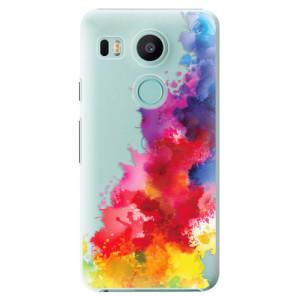 Plastové pouzdro iSaprio Color Splash 01 na mobil LG Nexus 5X