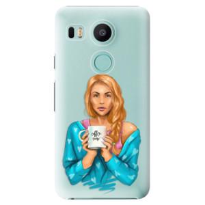 Plastové pouzdro iSaprio Coffee Now Zrzka na mobil LG Nexus 5X