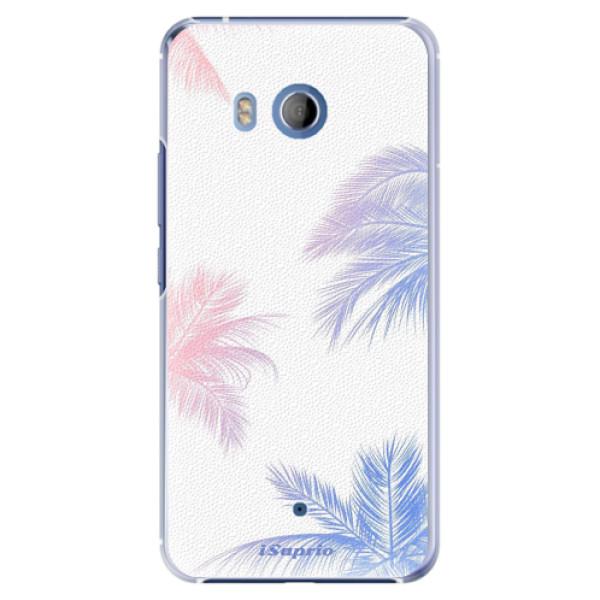 Plastové pouzdro iSaprio Palmy 10 na mobil HTC U11 (Plastový kryt, obal, pouzdro iSaprio Palmy 10 na mobilní telefon HTC U11)