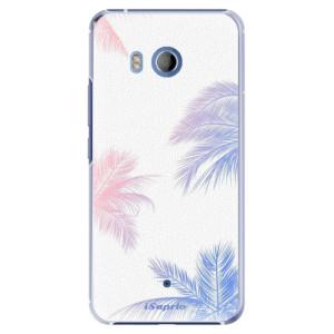 Plastové pouzdro iSaprio Palmy 10 na mobil HTC U11