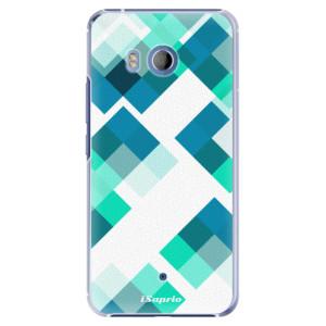 Plastové pouzdro iSaprio Abstract Squares 11 na mobil HTC U11
