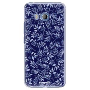 Plastové pouzdro iSaprio Blue Leaves 05 na mobil HTC U11