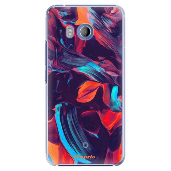 Plastové pouzdro iSaprio Barevný mramor 19 na mobil HTC U11 (Plastový kryt, obal, pouzdro iSaprio Barevný mramor 19 na mobilní telefon HTC U11)