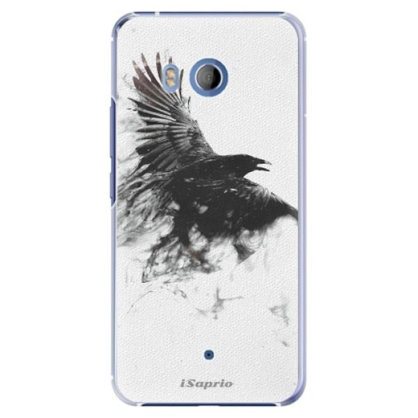 Plastové pouzdro iSaprio Havran 01 na mobil HTC U11 (Plastový kryt, obal, pouzdro iSaprio Havran 01 na mobilní telefon HTC U11)