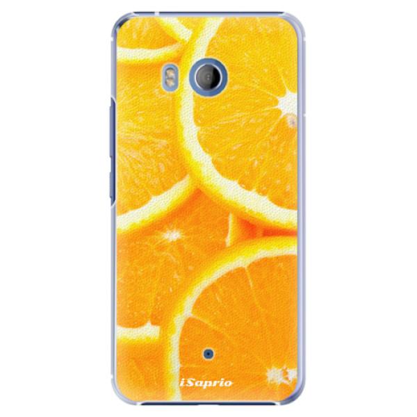 Plastové pouzdro iSaprio Pomeranče na mobil HTC U11 (Plastový kryt, obal, pouzdro iSaprio Pomeranče na mobilní telefon HTC U11)