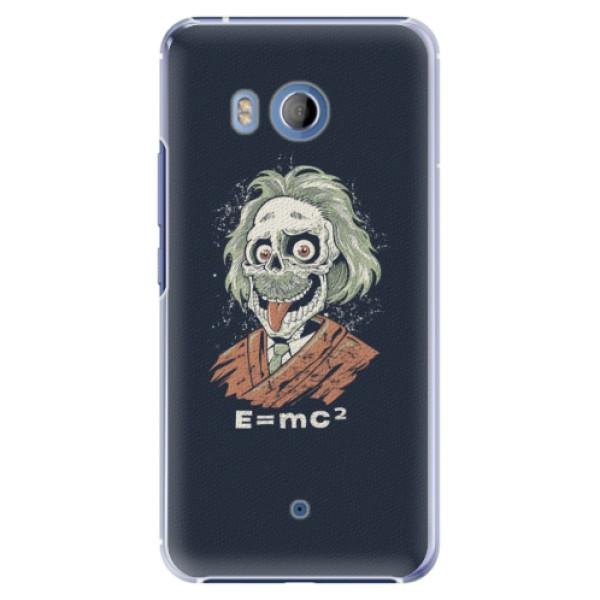 Plastové pouzdro iSaprio Einstein 01 na mobil HTC U11 (Plastový kryt, obal, pouzdro iSaprio Einstein 01 na mobilní telefon HTC U11)
