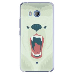 Plastové pouzdro iSaprio Angry Bear na mobil HTC U11