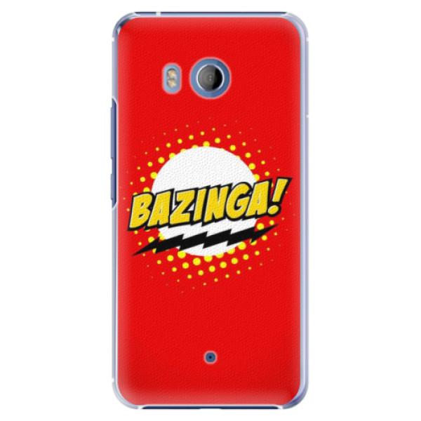 Plastové pouzdro iSaprio Bazinga 01 na mobil HTC U11 (Plastový obal, kryt, pouzdro iSaprio Bazinga 01 na mobilní telefon HTC U11)