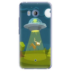 Plastové pouzdro iSaprio Alien 01 na mobil HTC U11