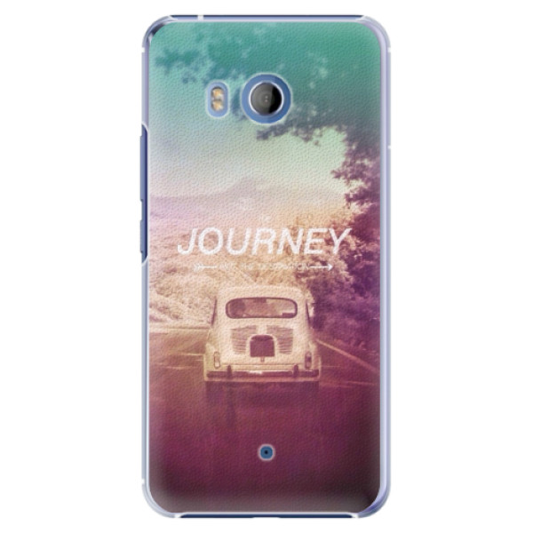 Plastové pouzdro iSaprio Journey na mobil HTC U11 (Plastový kryt, obal, pouzdro iSaprio Journey na mobilní telefon HTC U11)