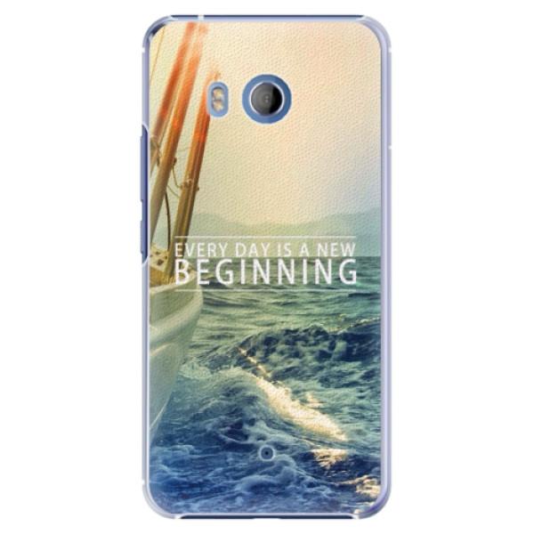 Plastové pouzdro iSaprio Beginning na mobil HTC U11 (Plastový obal, kryt, pouzdro iSaprio Beginning na mobilní telefon HTC U11)