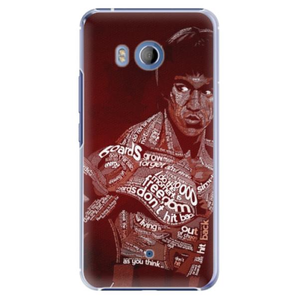 Plastové pouzdro iSaprio Bruce Lee na mobil HTC U11 (Plastový obal, kryt, pouzdro iSaprio Bruce Lee na mobilní telefon HTC U11)