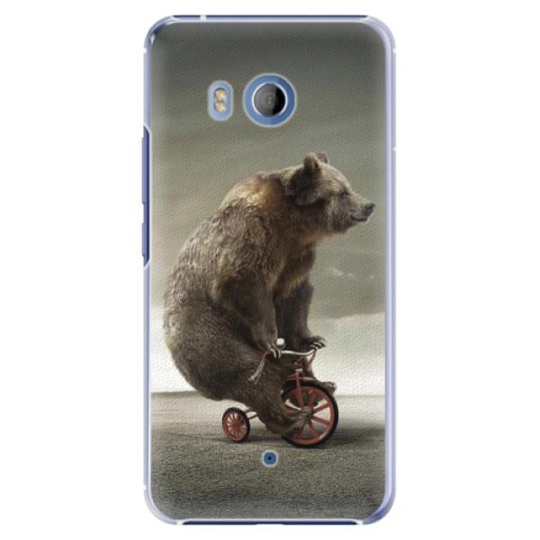 Plastové pouzdro iSaprio Bear 01 na mobil HTC U11 (Plastový obal, kryt, pouzdro iSaprio Bear 01 na mobilní telefon HTC U11)