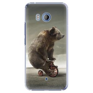 Plastové pouzdro iSaprio Bear 01 na mobil HTC U11