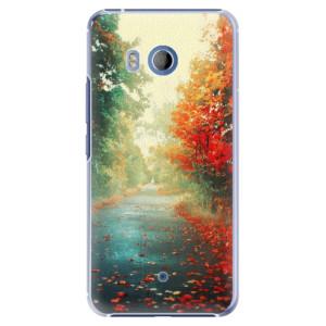Plastové pouzdro iSaprio Autumn 03 na mobil HTC U11