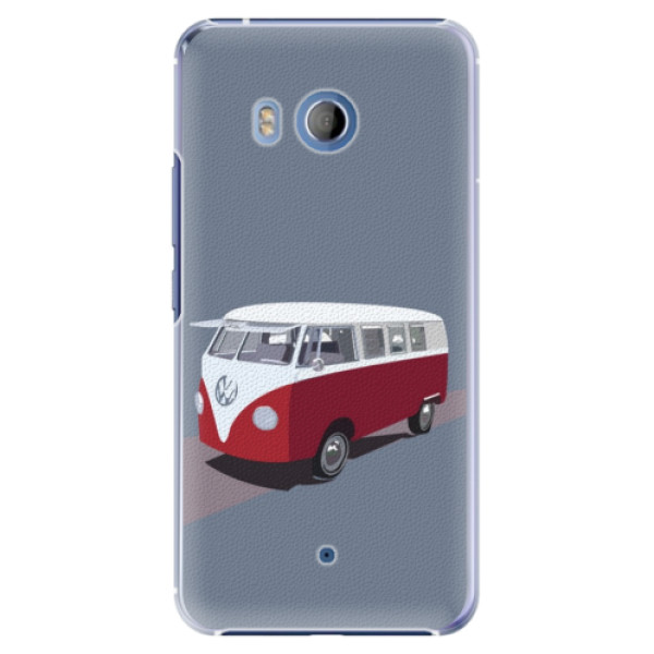 Plastové pouzdro iSaprio VW Bus na mobil HTC U11 (Plastový obal, kryt, pouzdro iSaprio VW Bus na mobilní telefon HTC U11)