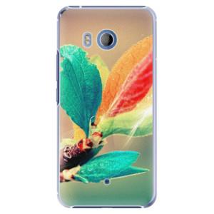 Plastové pouzdro iSaprio Autumn 02 na mobil HTC U11