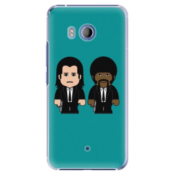 Plastové pouzdro iSaprio Pulp Fiction na mobil HTC U11 (Plastový kryt, obal, pouzdro iSaprio Pulp Fiction na mobilní telefon HTC U11)