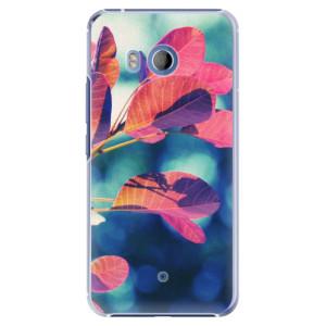 Plastové pouzdro iSaprio Autumn 01 na mobil HTC U11