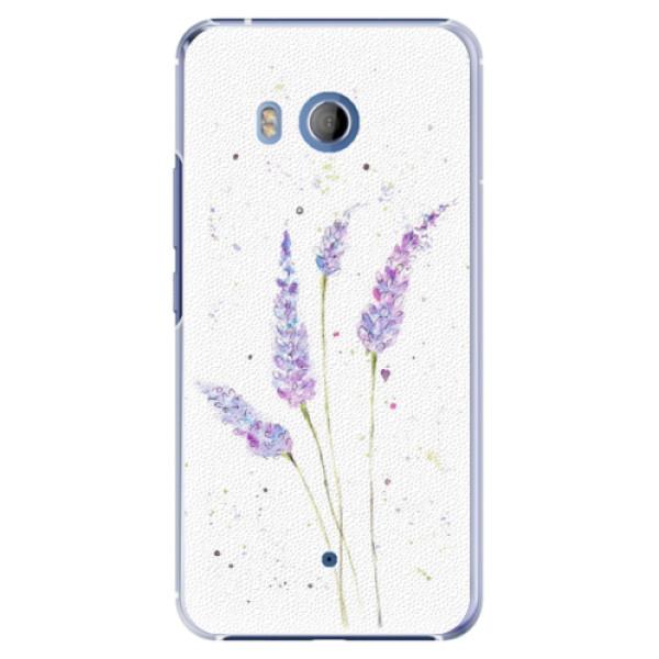 Plastové pouzdro iSaprio Levandule na mobil HTC U11 (Plastový kryt, obal, pouzdro iSaprio Levandule na mobilní telefon HTC U11)