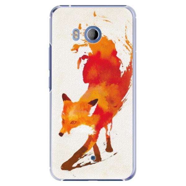 Plastové pouzdro iSaprio Lištička na mobil HTC U11 (Plastový kryt, obal, pouzdro iSaprio Lištička na mobilní telefon HTC U11)