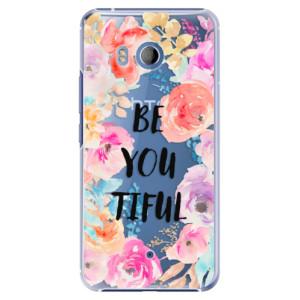 Plastové pouzdro iSaprio BeYouTiful na mobil HTC U11