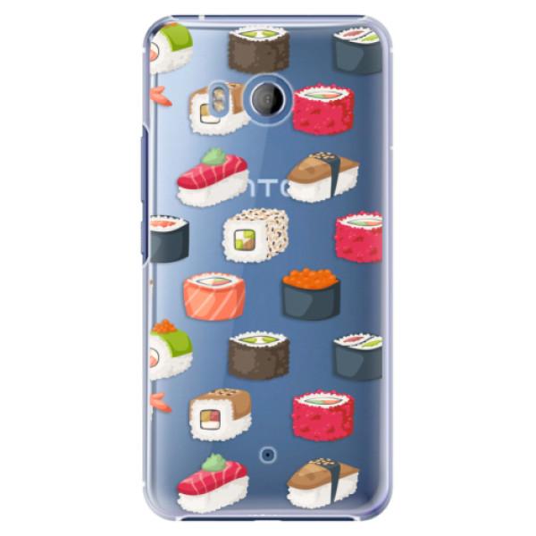 Plastové pouzdro iSaprio Sushi na mobil HTC U11 (Plastový kryt, obal, pouzdro iSaprio Sushi na mobilní telefon HTC U11)