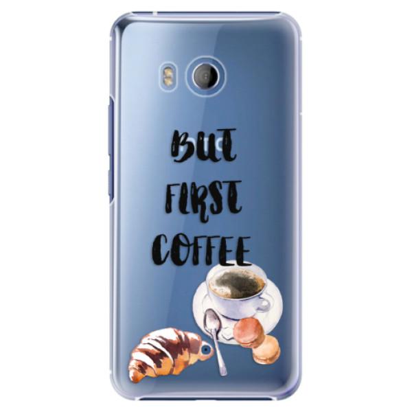 Plastové pouzdro iSaprio Ranní Kávička na mobil HTC U11 (Plastový kryt, obal, pouzdro iSaprio Ranní Kávička na mobilní telefon HTC U11)