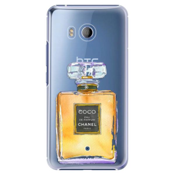 Plastové pouzdro iSaprio Chanel Gold na mobil HTC U11 (Plastový kryt, obal, pouzdro iSaprio Chanel Gold na mobilní telefon HTC U11)