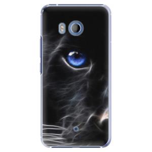 Plastové pouzdro iSaprio black Puma na mobil HTC U11