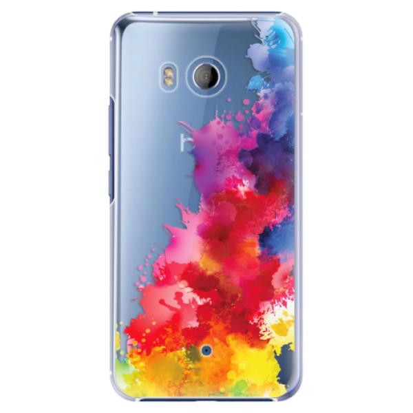 Plastové pouzdro iSaprio Color Splash 01 na mobil HTC U11 (Plastový kryt, obal, pouzdro iSaprio Color Splash 01 na mobilní telefon HTC U11)