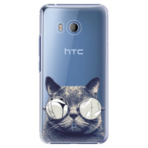 Plastové pouzdro iSaprio Šílená Číča 01 na mobil HTC U11