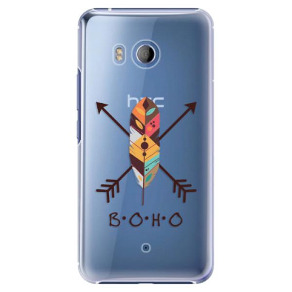 Plastové pouzdro iSaprio BOHO na mobil HTC U11 (Plastový obal, kryt, pouzdro iSaprio BOHO na mobilní telefon HTC U11)