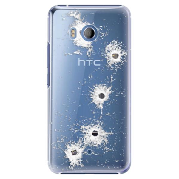 Plastové pouzdro iSaprio Průstřely na mobil HTC U11 (Plastový kryt, obal, pouzdro iSaprio Průstřely na mobilní telefon HTC U11)