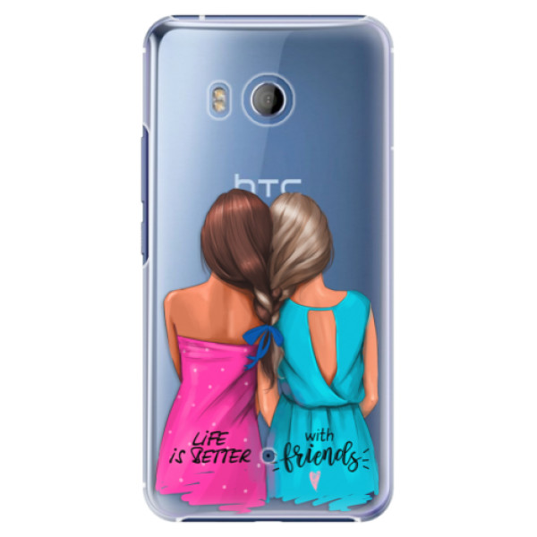 Plastové pouzdro iSaprio Best Friends na mobil HTC U11 (Plastový obal, kryt, pouzdro iSaprio Best Friends na mobilní telefon HTC U11)