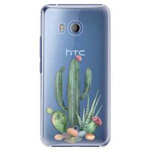 Plastové pouzdro iSaprio Kaktusy 02 na mobil HTC U11