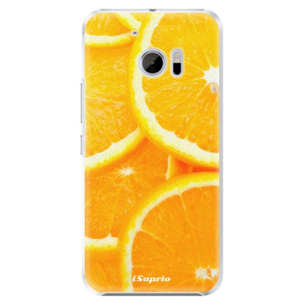 Plastové pouzdro iSaprio Pomeranče na mobil HTC 10 (Plastový kryt, obal, pouzdro iSaprio Pomeranče na mobilní telefon HTC 10)