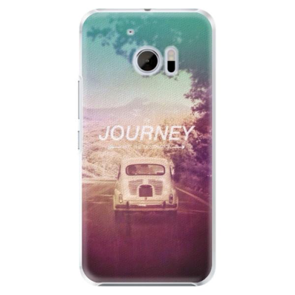 Plastové pouzdro iSaprio Journey na mobil HTC 10 (Plastový kryt, obal, pouzdro iSaprio Journey na mobilní telefon HTC 10)