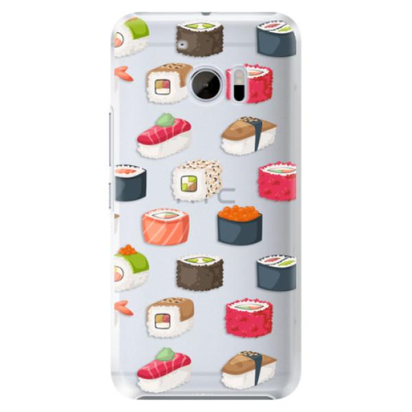 Plastové pouzdro iSaprio Sushi na mobil HTC 10 (Plastový kryt, obal, pouzdro iSaprio Sushi na mobilní telefon HTC 10)