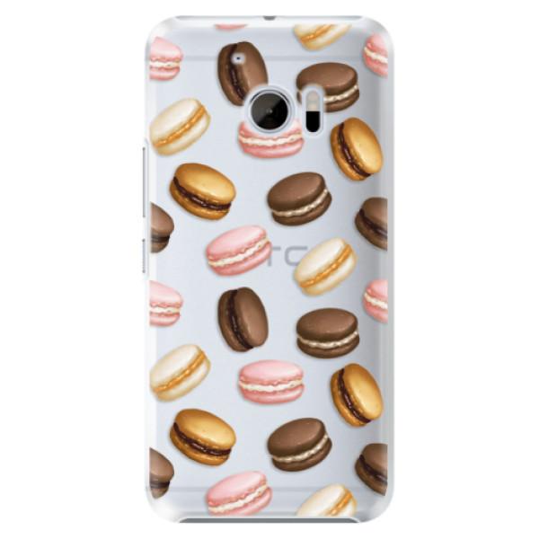Plastové pouzdro iSaprio Makronky na mobil HTC 10 (Plastový kryt, obal, pouzdro iSaprio Makronky na mobilní telefon HTC 10)