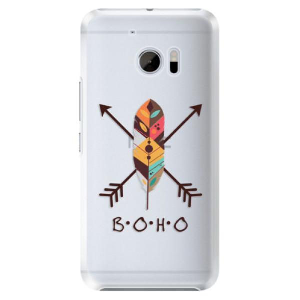 Plastové pouzdro iSaprio BOHO na mobil HTC 10 (Plastový obal, kryt, pouzdro iSaprio BOHO na mobilní telefon HTC 10)